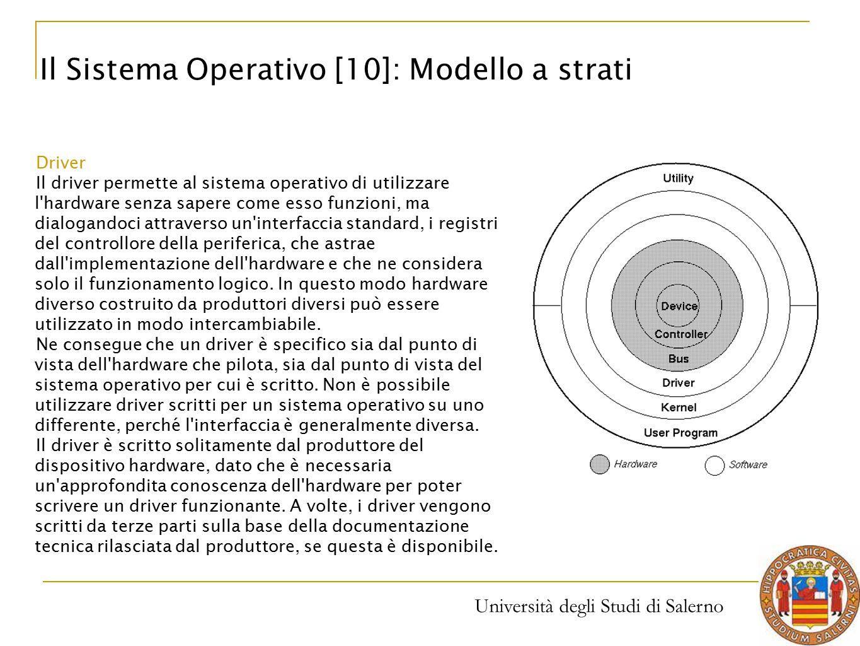 Il Sistema Operativo [10]: Modello a strati
